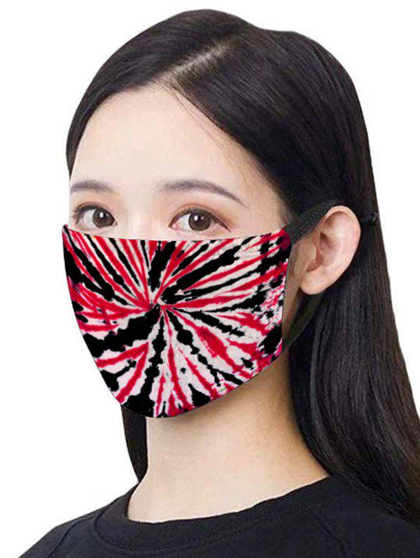 Chic Tie Dye Breathable Dustproof Washable Mask