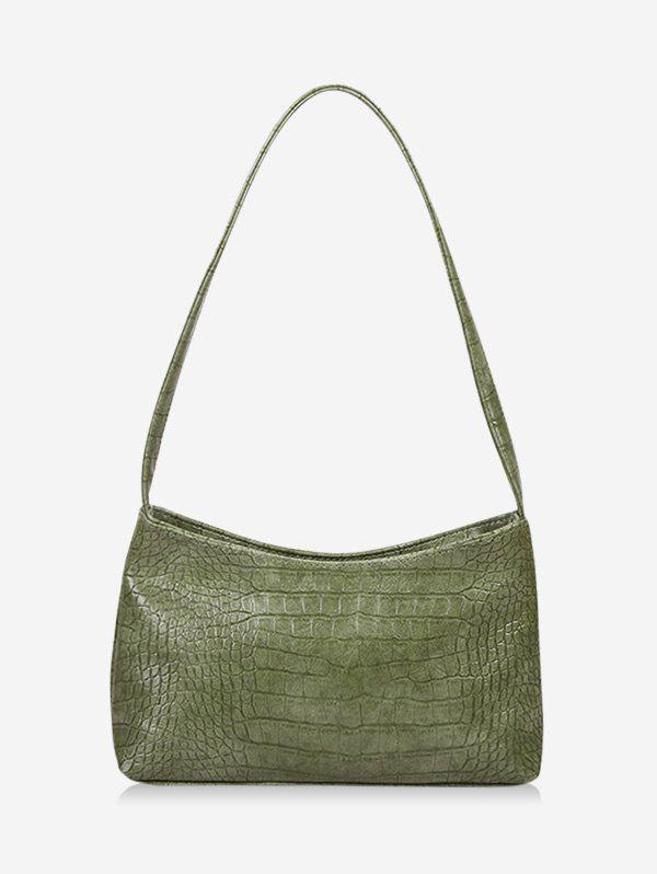 Fashion French Style Textured Solid Shoulder Bag