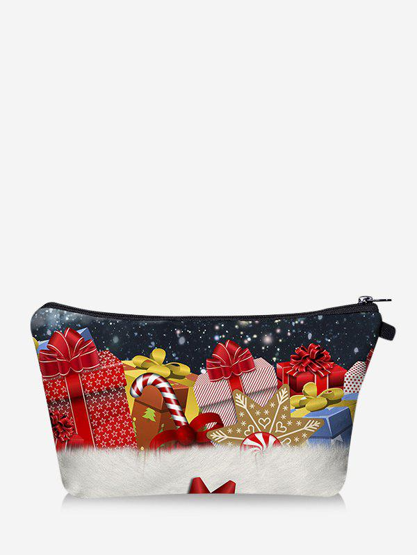 Shops Christmas Gifts Digital Print Storage Makeup Bag