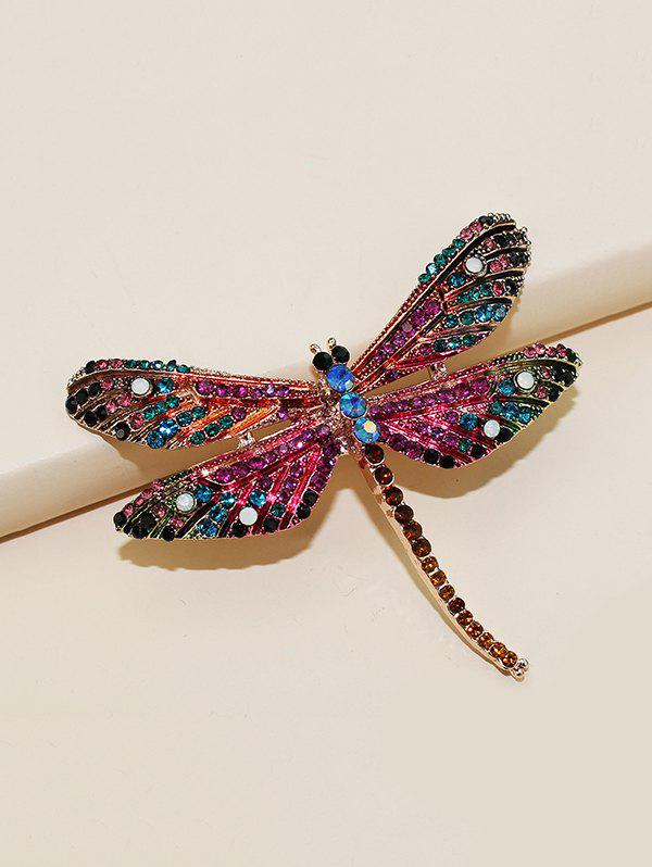 Outfits Dragonfly Shape Rhinestone Brooch