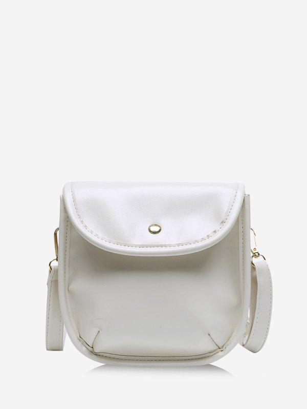 Latest Solid Cover Crossbody Small Saddle Bag