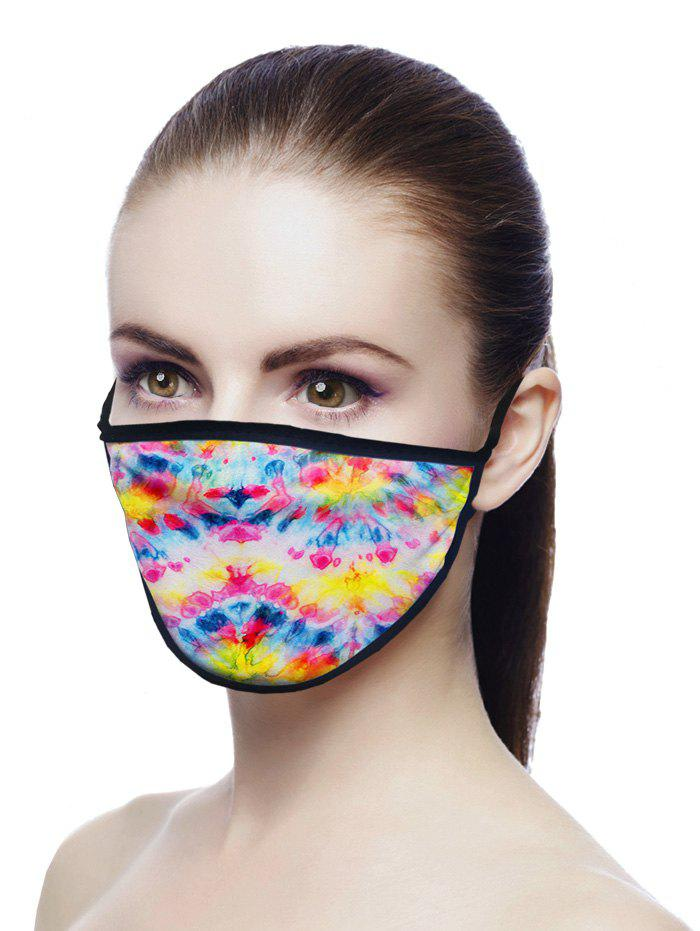 Outfits Printed Air Layer Fabric Face Mask
