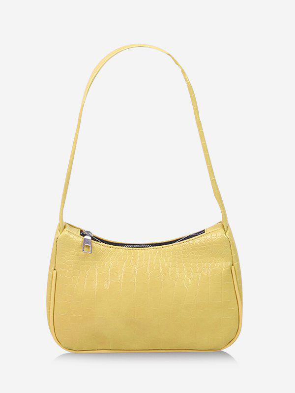 Store Textured French Style Shoulder Bag