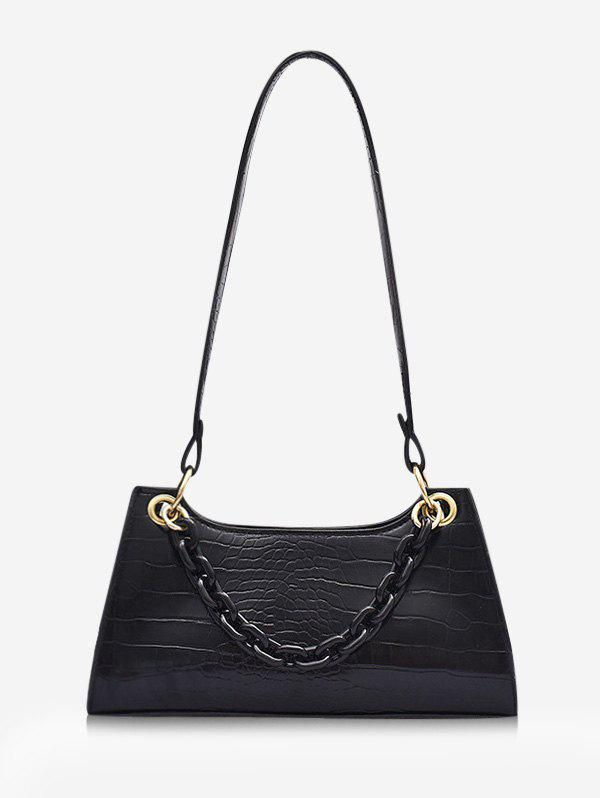Outfit French Style Chain Solid Shoulder Bag