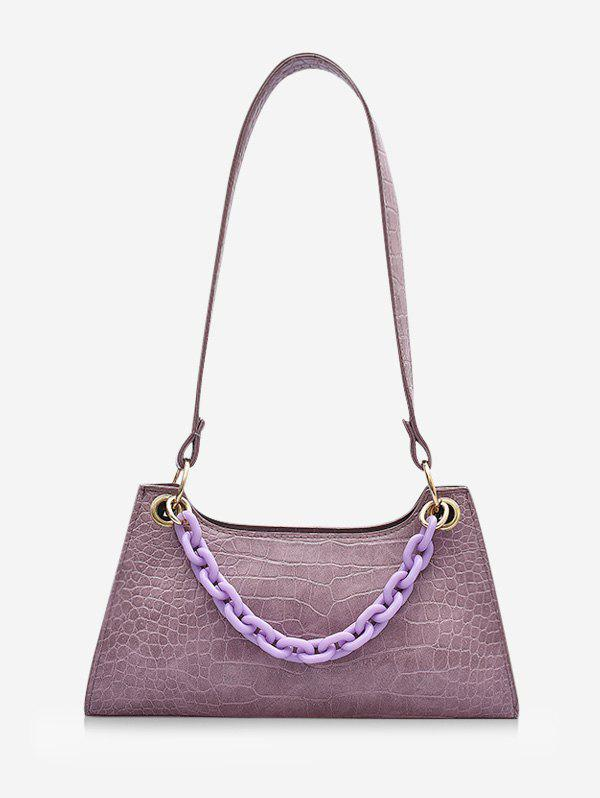 Outfits French Style Chain Solid Shoulder Bag