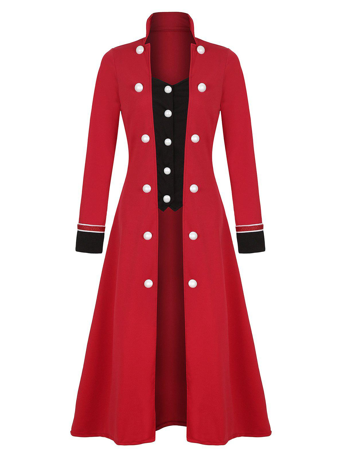 Best Plus Size Long Double Breasted Coat