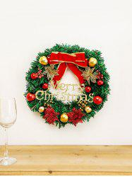 Christmas Bowknot Garland Tree Door Decor -
