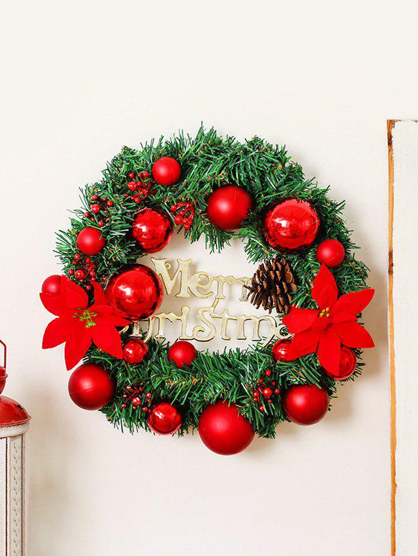 Latest Merry Christmas Garland Floral Wall Decor