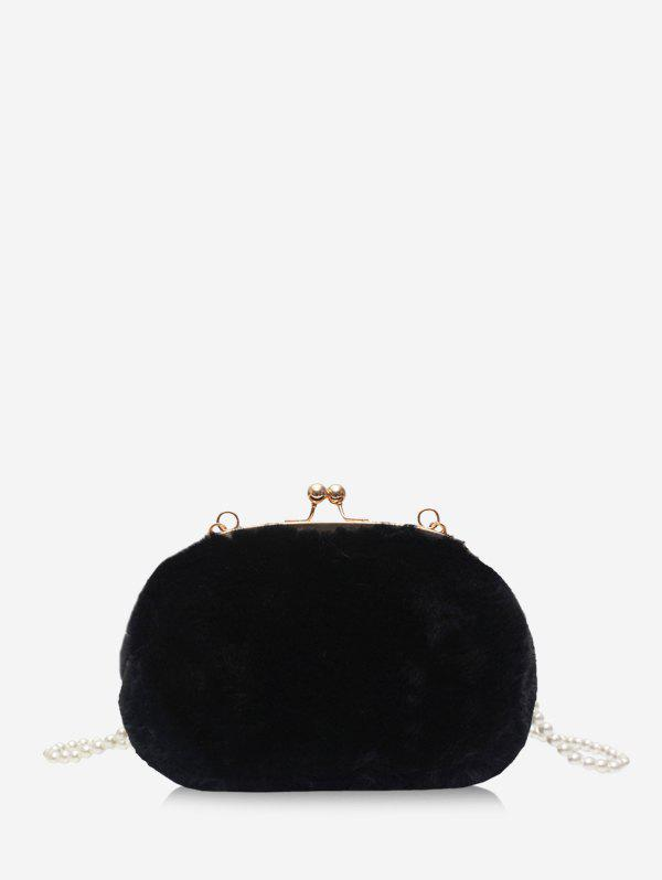 Outfits Pearl Plush Crossbody Hand Bag