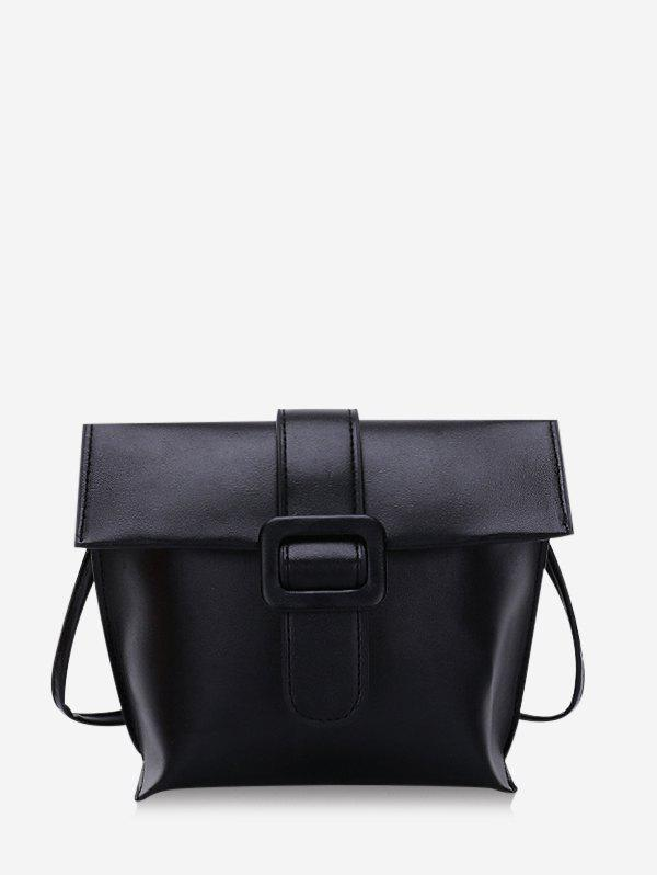 Shops Solid Buckle Cover Square Crossbody Bag