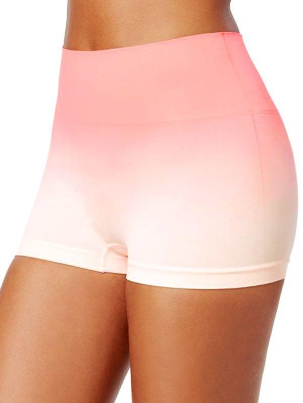 Outfits High Waisted Ombre Short Leggings