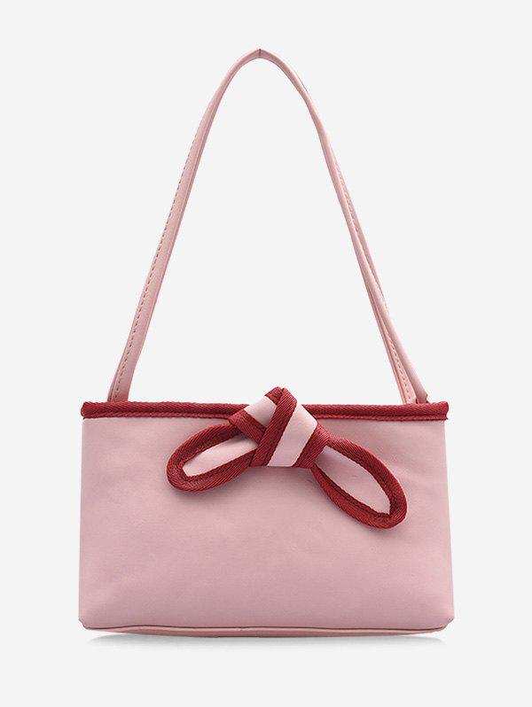 Online Bowknot Design PU Leather Tote Bag