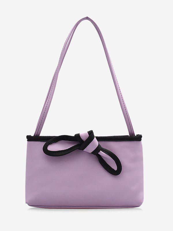 Latest Bowknot Design PU Leather Tote Bag
