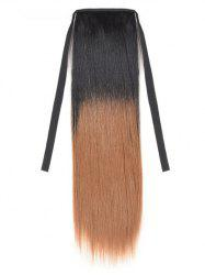 Synthetic Long Straight Ombre Hair Extension Ponytail -