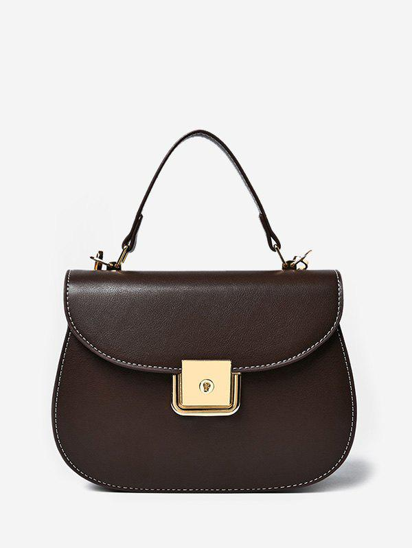 Store PU Leather Flap Saddle Bag