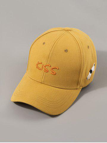 Embroidery Letters Kiss Baseball Cap