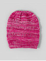 Winter Mixed Color Knitted Hat -