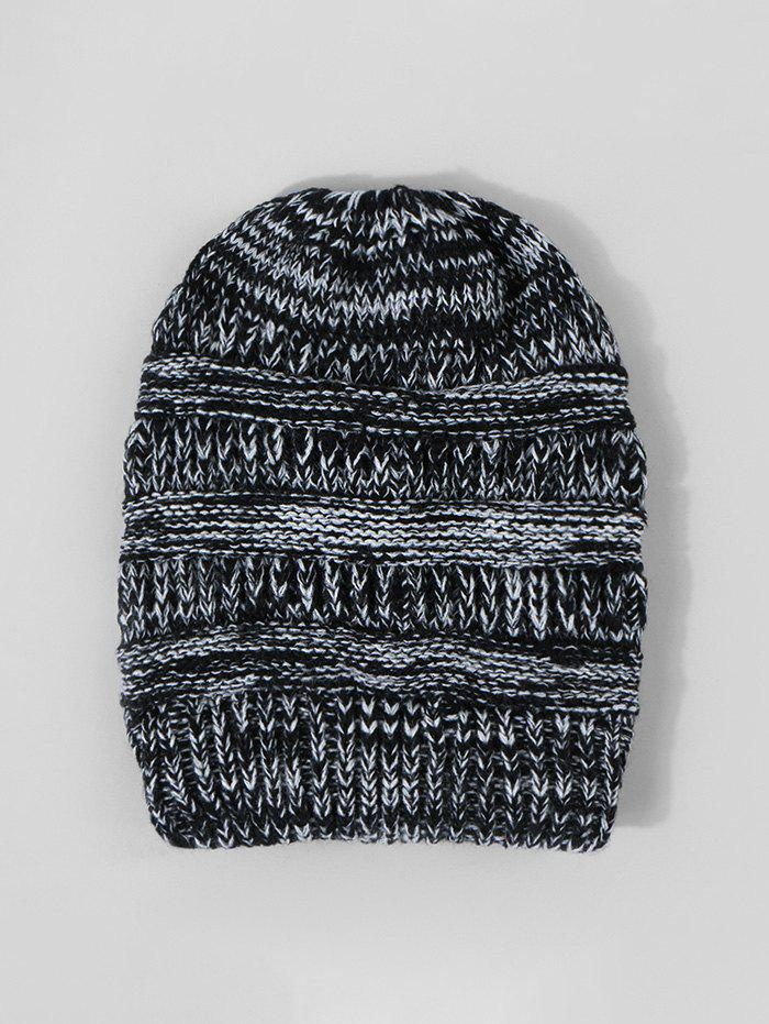 Online Winter Mixed Color Knitted Hat