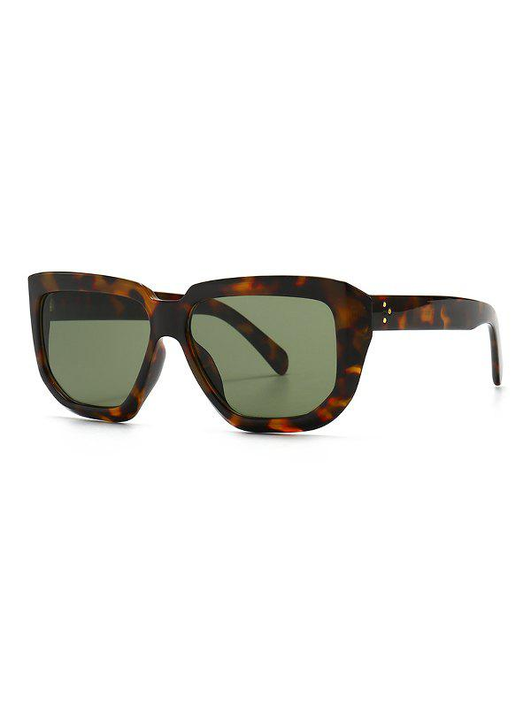 Latest Oversized Rivet Irregular Sunglasses