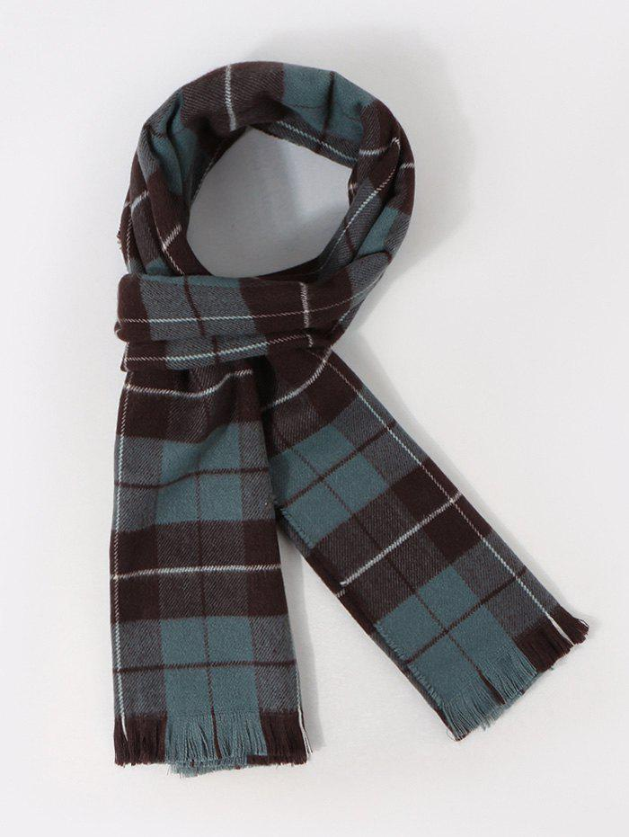 Best Checkered Pattern Long Shawl Scarf