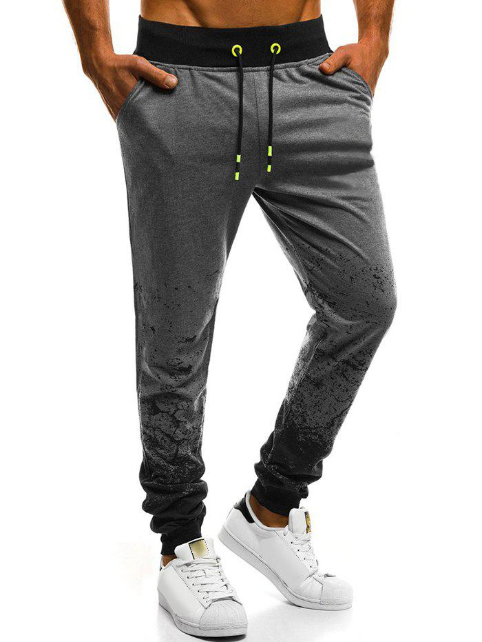 Buy Painting Splatter Print Jogger Sweatpants
