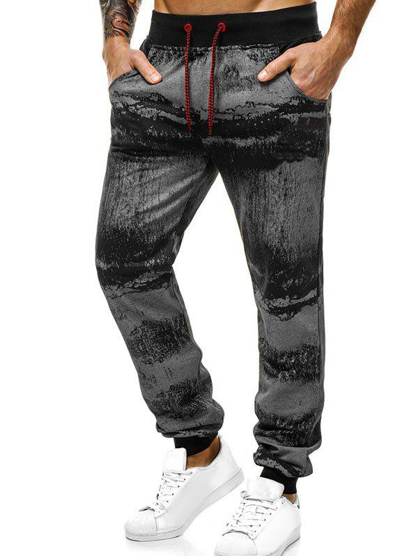 Store Ink Painting Print Jogger Sweatpants