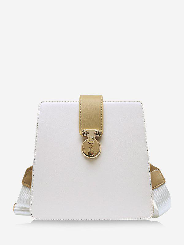 Outfit Colorblock Crossbody Square Bag
