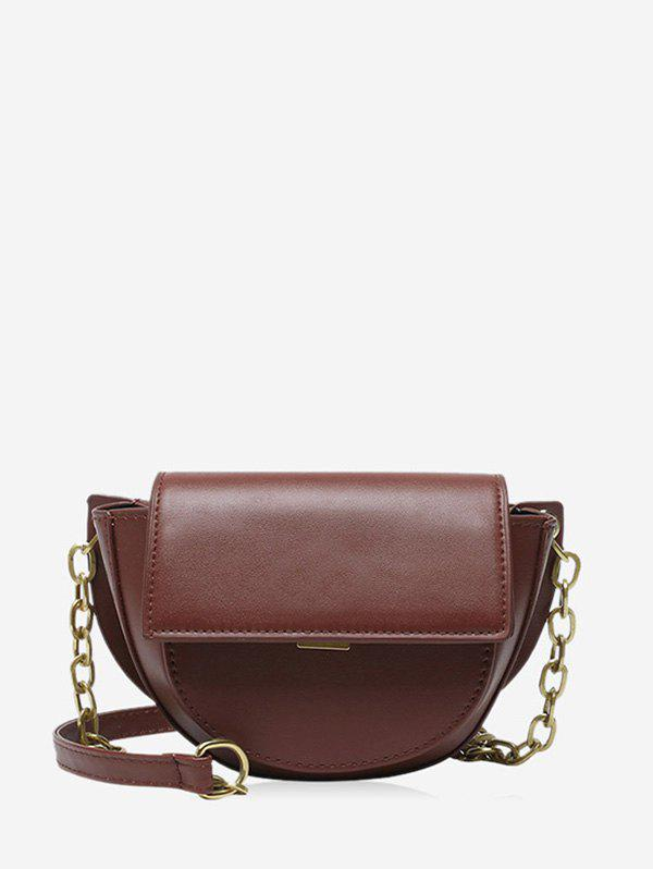 Shop Cover Chain Solid Saddle Bag