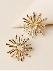 Snowflake Shape Stud Earrings -