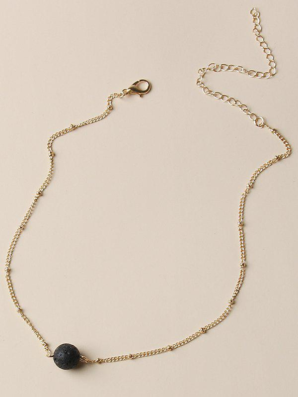 Chic Brief Ball Clavicle Chain Necklace