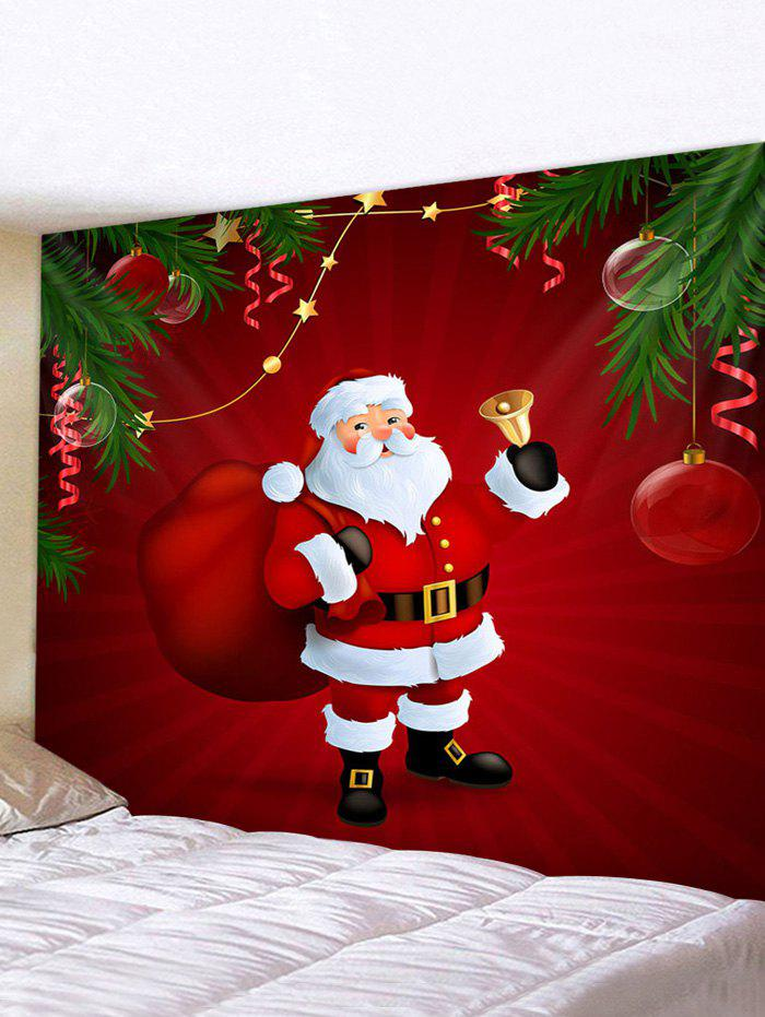 Hot Christmas Santa Claus Print Background Wall Tapestry
