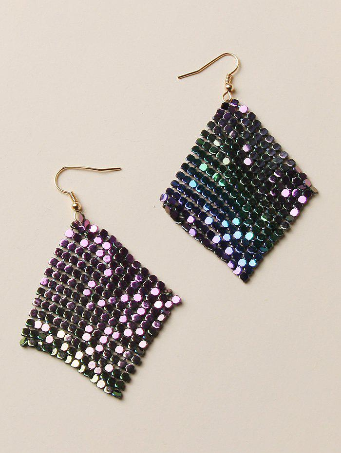 Outfits Gradient Sequined Dangle Earrings