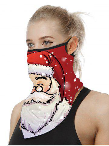 Christmas Patterned Riding Face Mask Scarf