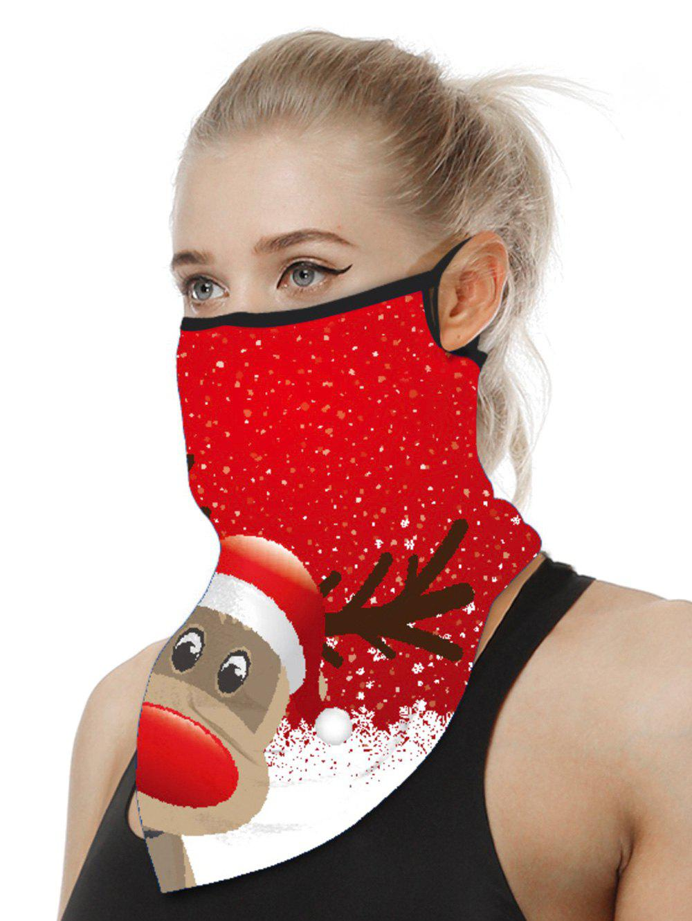 Best Christmas Patterned Riding Face Mask Scarf