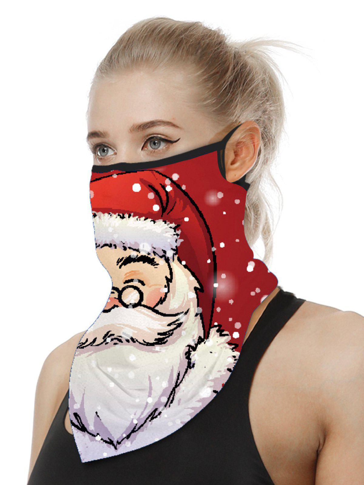 Cheap Christmas Patterned Riding Face Mask Scarf