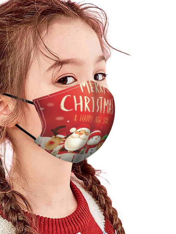 Outfits Christmas Patterned Breathing Mask