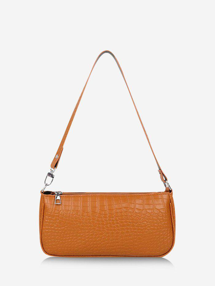 Sale French Style Textured Shoulder Bag