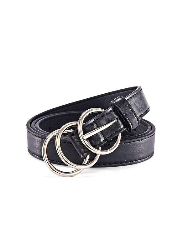 Latest Trio Round Buckle Belt