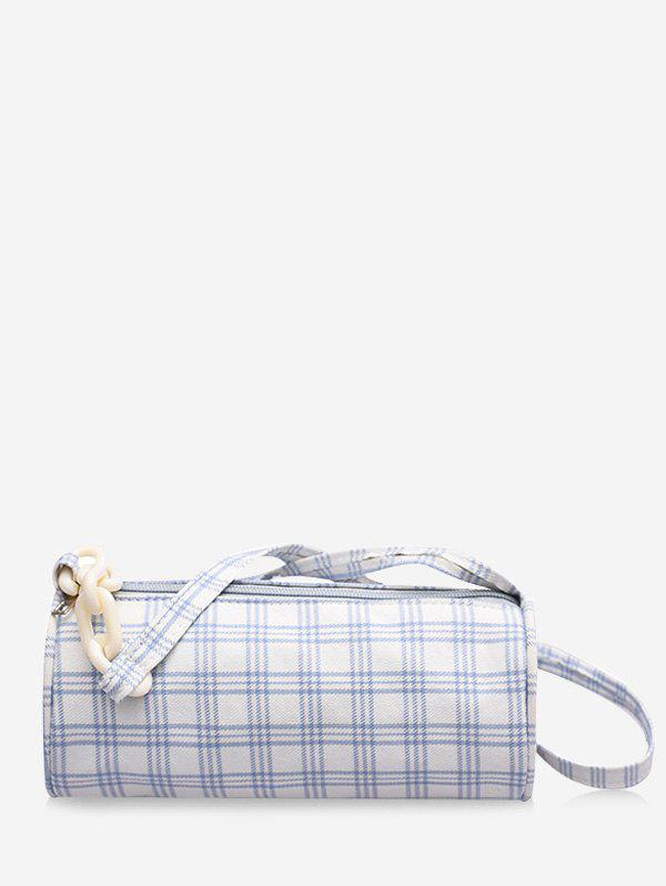Store Casual Plaid Chain Mini Crossbody Bag