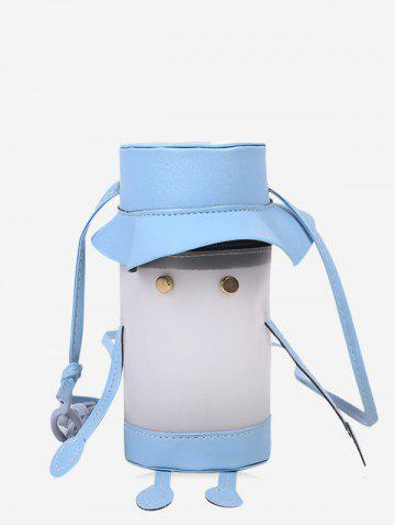 Cartoon Cylinder Crossbody Phone Bag