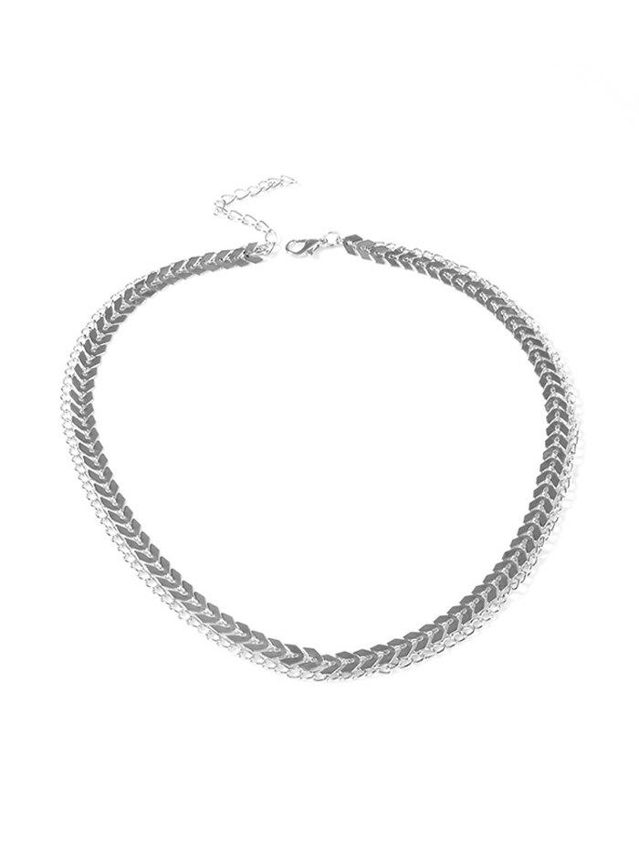 Shops Bohemian Herringbone Layered Choker Necklace