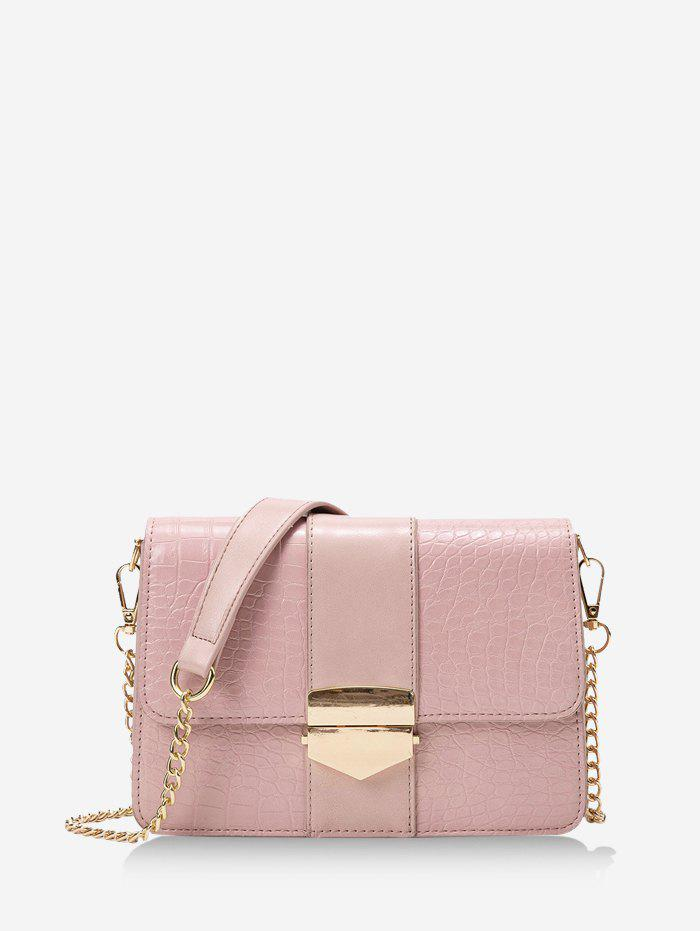 New Chain Cover Rectangle Crossbody Bag