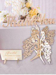 Wedding Wooden Wishing Tree Guest Book Decoration -