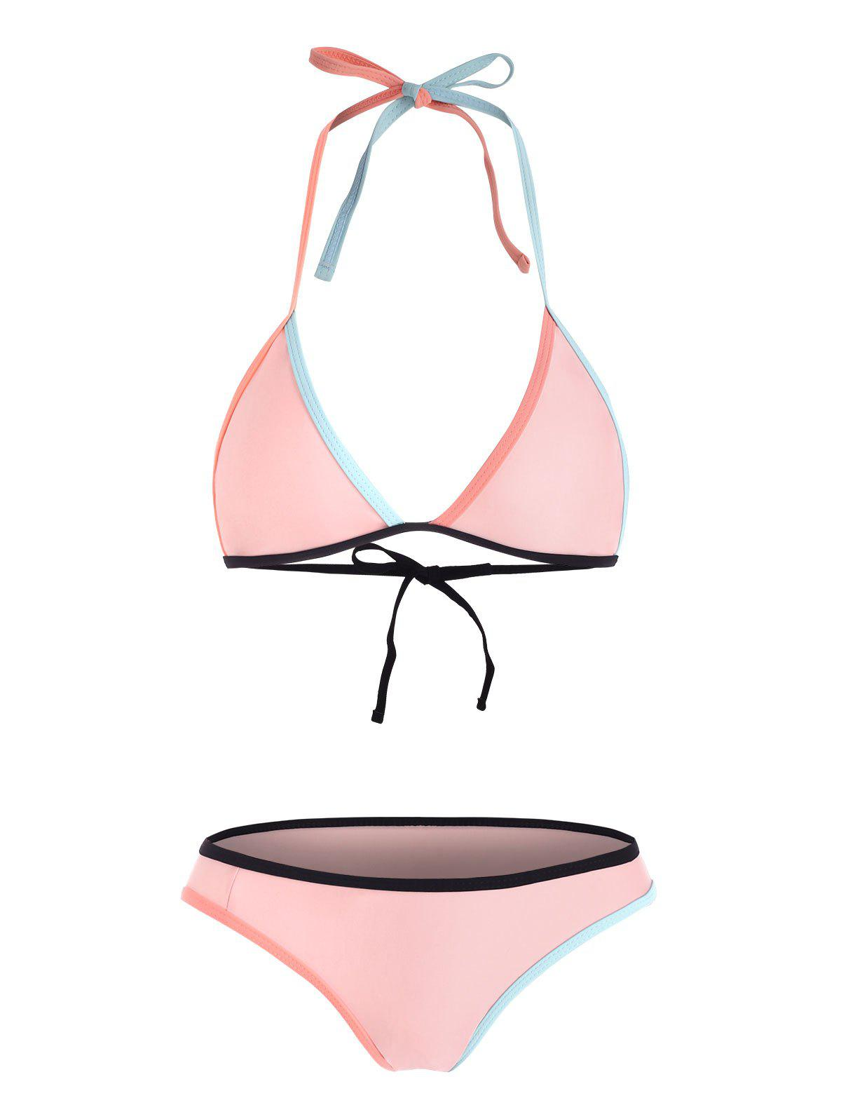 Store Colored Bralette Bikini Beachwear