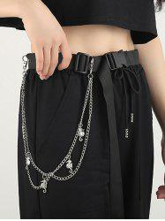 Sea Horse Pendant Double Layers Trousers Chain -