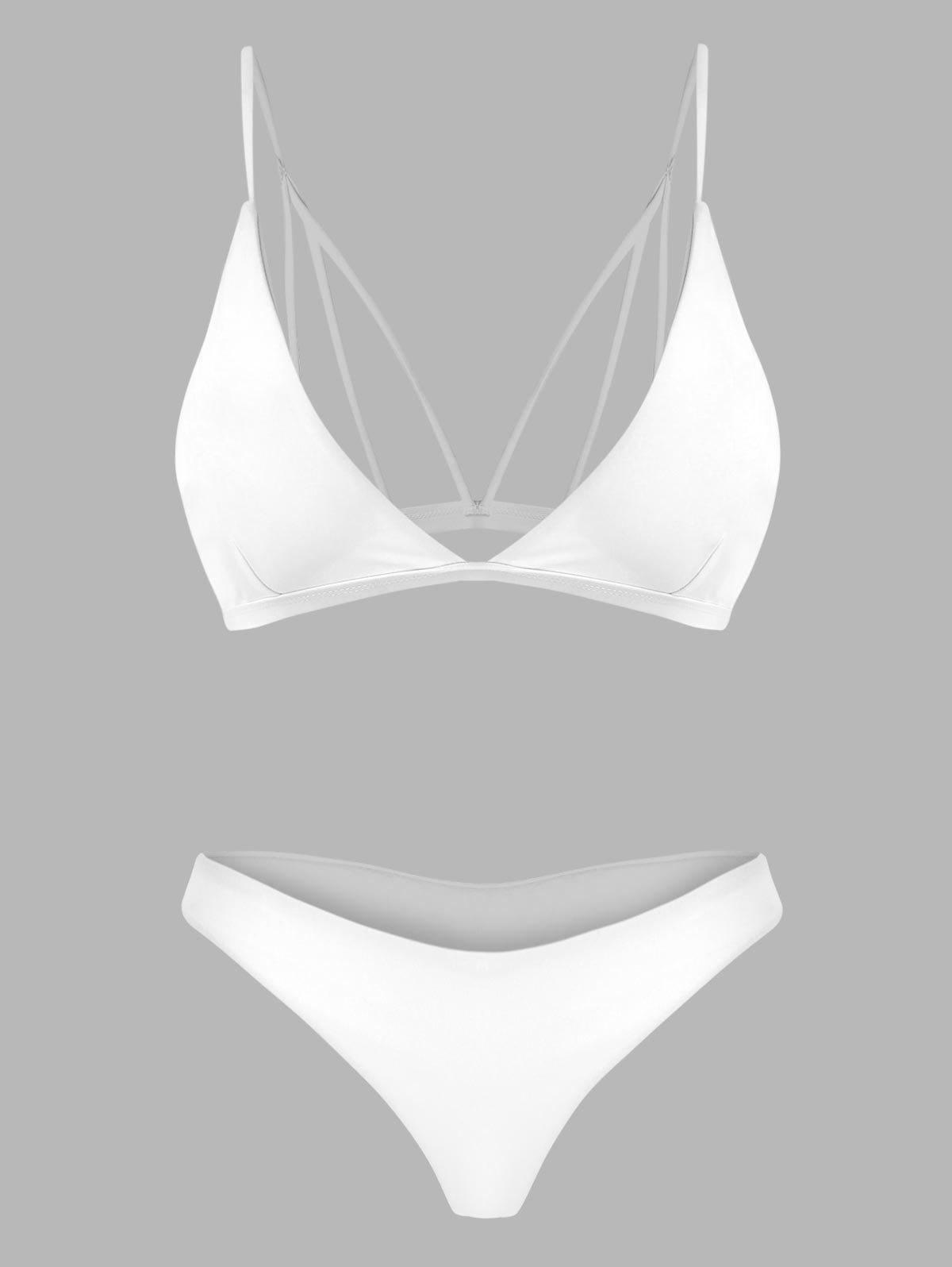 Store Back Strappy Padded Bathing Suit