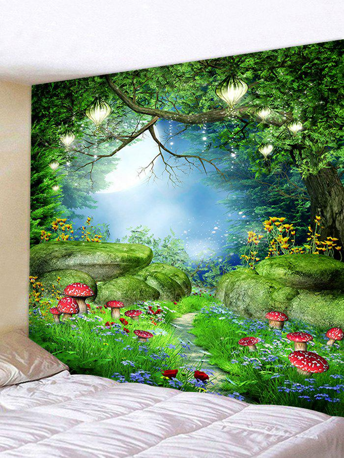 Buy Forest Mushrooms Printing Wall Tapestry