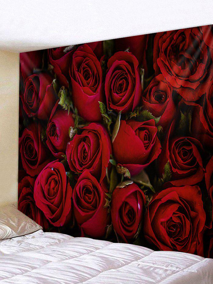Sale Rose Flower 3D Printed Home Wall Tapestry