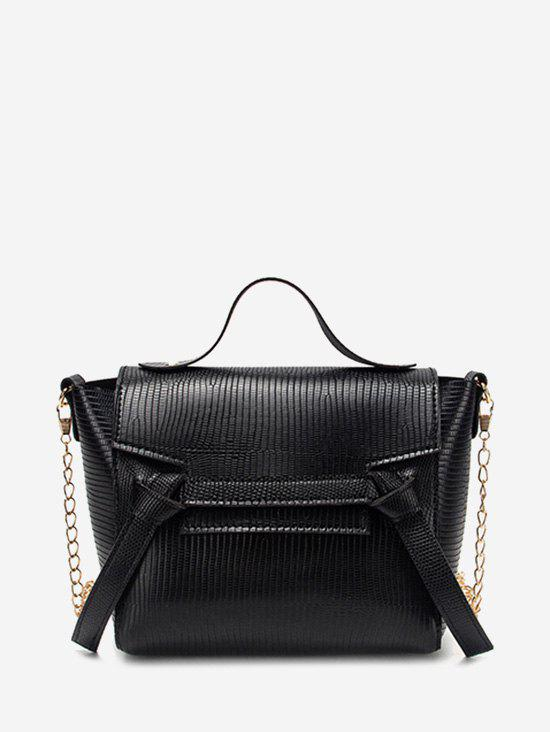 Shops Chain Textured Knot Cover Crossbody Bag