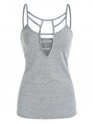 Cut Out Casual Cami Tank Top -